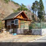 京都府 渓谷沿いのログキャビン 400万円