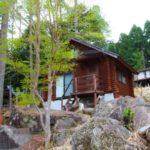 兵庫県宍粟市 高台の風を感じるログハウス 350万円
