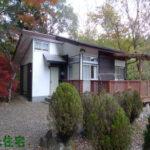 栃木県那須塩原市 赤いウッドデッキがお洒落な平屋別荘 350万円
