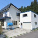 北海道上磯郡木古内町 津軽海峡を望む2階建て 4LDK 80万円